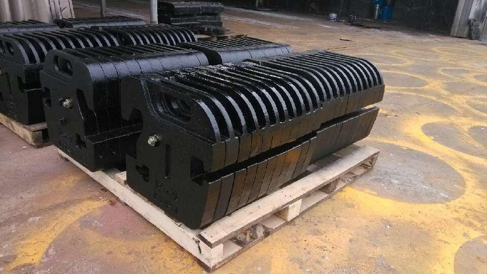 配重铁 细粒灰铁铸造配重铁泊铸产
