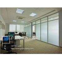 卓邦供应办公室隔断 新型玻璃隔断 办公室移动隔断