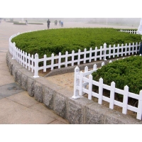 批发pvc草坪护栏围栏