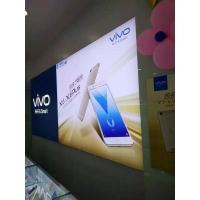 长沙软膜卡布灯箱,湖南UV软膜手机店灯箱,超薄无边框灯箱