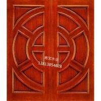 南京原木门厂-南京南宝木业-豪华双开门