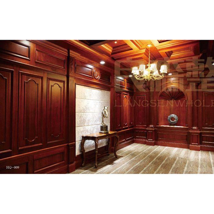 南京实木护墙板-良森整屋定制