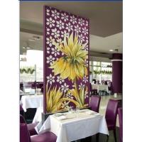 紫色典雅马赛克背景墙