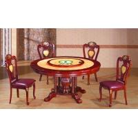 福建实木电磁炉餐桌 最具口碑的福州火锅桌低价甩卖