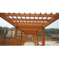 大量供应木制葡萄架 户外防腐木葡萄架 防腐木廊架加工
