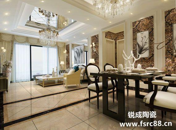 地板砖客厅高档瓷砖 新工艺超耐磨防污