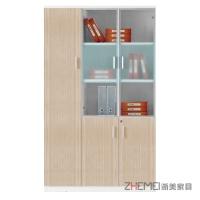 浙美现代简约时尚办公室文件柜、移动柜