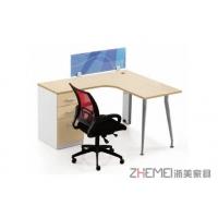 浙美2017新款简约时尚办公台、职员工作电脑桌