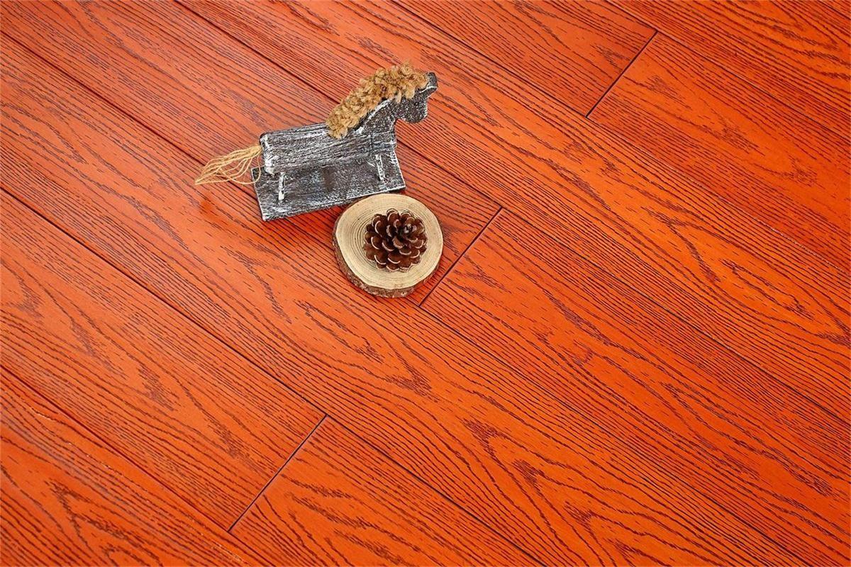 书香世佳地板-实木地板-浮雕仿古黄金麦田866