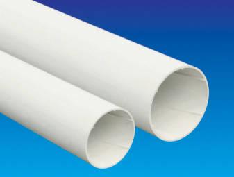 是易迈得管业-PVC-U排水管材、管件系列-PVC-U实芯螺旋管材的