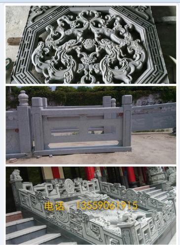 桥栏杆,花岗岩桥梁栏杆,石材栏杆 专业栏杆