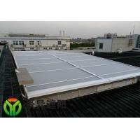 供应玻璃顶外装户外电动天幕遮阳棚 上海电动遮阳帘厂家