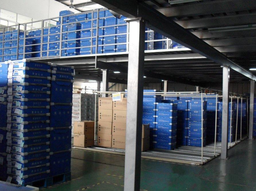 活动组装阁楼货架 钢平台结构