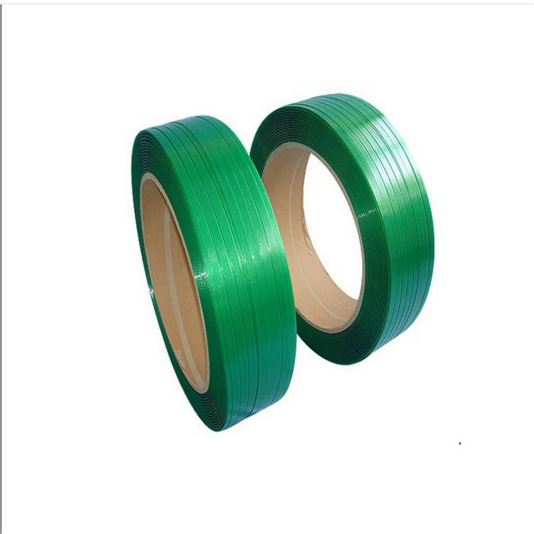 PET打包带,塑钢带,1608绿色塑钢带