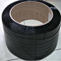 PET打包带,各种规格绿色塑钢带,黑色塑钢带