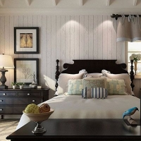 家装水性木纹漆 门板木纹效果 家具床柜仿木纹效果 环保水性漆