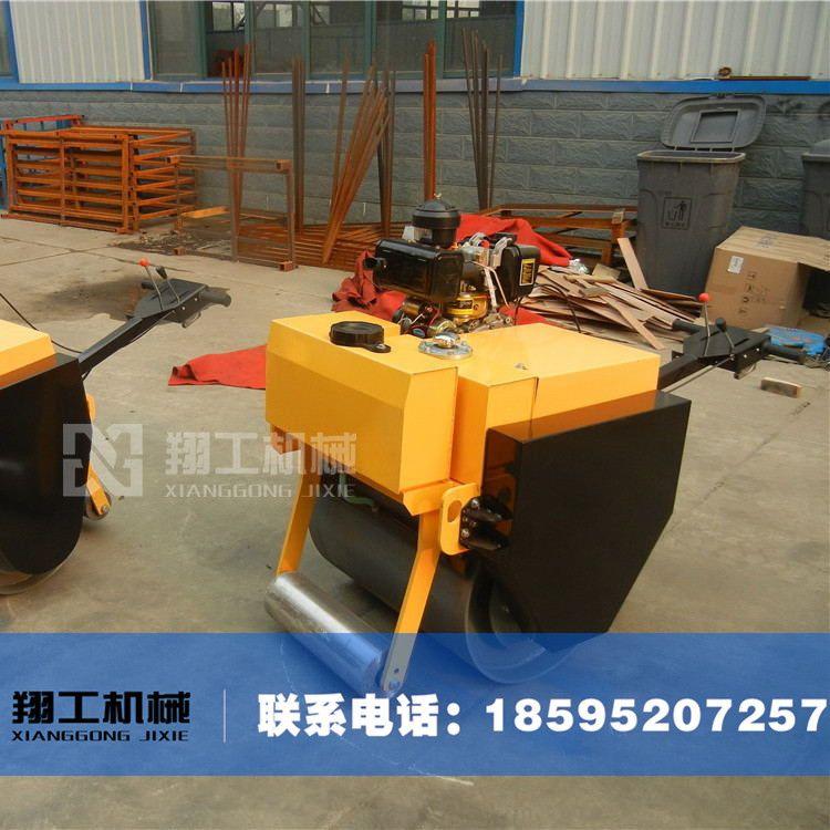 SYL-600型小型单钢轮压路机