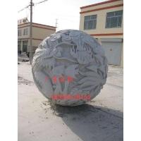 石雕龙球 雕刻盘龙球