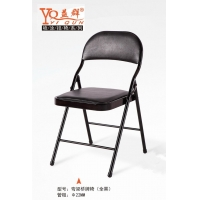 益群正品折叠椅办公会议椅会客椅家用桥牌椅
