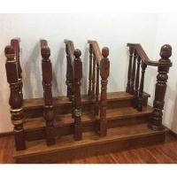 南京楼梯立柱-乐步实木楼梯