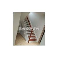 南京玻璃楼梯-乐步全屋定制