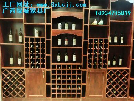 小菱形正方形酒格酒柜1