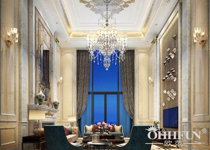 奢华欧式别墅灯具设计方案 - 广东中准照明科技有限