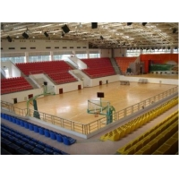 篮球馆专用地板 枫木纹篮球馆专用地胶