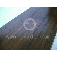 仿古凹凸面竹地板
