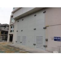 JH-YMB110变压器门、配电房折叠门、变压器室钢大门