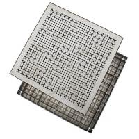 铝合金架空通风地板|铝合金防静电地板
