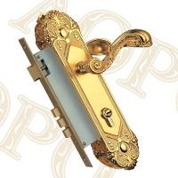 A系列欧式插芯锁执手款式