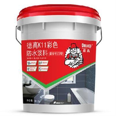 德高K11彩色防水浆料 柔韧性lll型图片