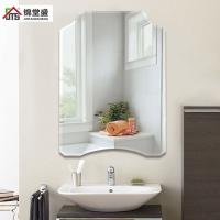 简约浴镜 卫生间镜子走廊镜 卫浴镜壁挂无框款式可选沙河直销