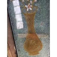 玻璃冰晶镶嵌花瓶 中空玻璃门芯 成品门18-30厘量大从优