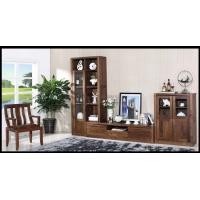 纯实木家具客厅电视柜组装地柜