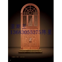 北京亚斯王铸铝玻璃门甲级防盗玻璃门