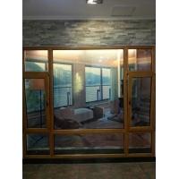 武汉88系列无缝焊接铝包木 铝木复合门窗