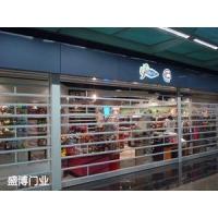 内蒙古盛博自动门窗有限公司供应不锈钢水晶卷帘门
