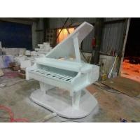 雕塑玻璃钢雕塑钢琴泡沫模型摆件商场广场雕塑