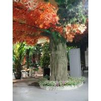 大型仿真红叶枫树