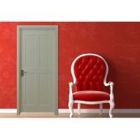 杰派家居 封闭漆 白国雪复合实木套装门 木门