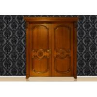 杰派家居 开放漆 板栗色原木套装门 木门 PK-PK009