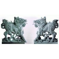 动物雕塑,大象,石狮,麒麟