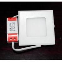 高亮室内照明精品灯具超薄方形2.5寸led天花灯