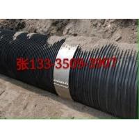 供应钢带管塑钢缠绕管连接方式不锈钢卡箍连接