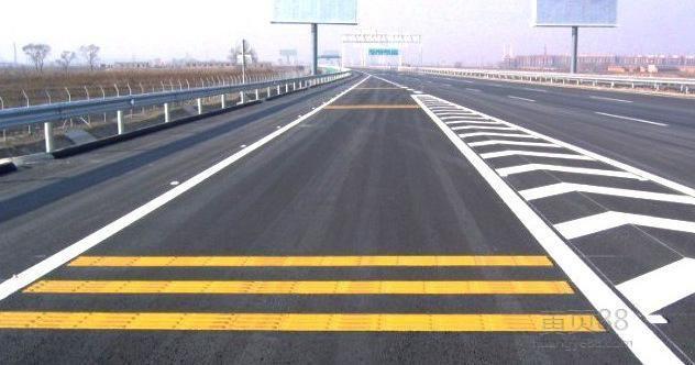 道路导线-划线漆施工 冠牌