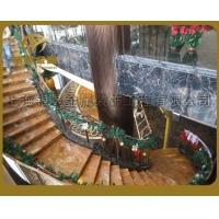 供应定制钢结构楼梯楼梯、精巧玻璃楼梯