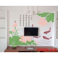 丝网印花涂料模具硅藻泥墙艺模具