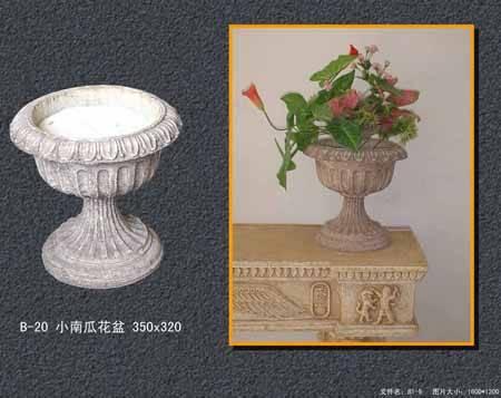 陕西西安自然陶艺术砂岩石 花瓶.花盆 H012